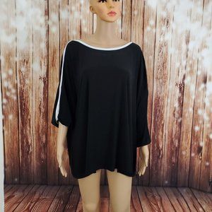 Avenue Blouse 26/28 Black Top
